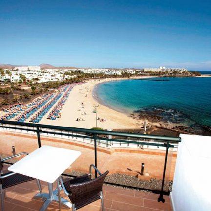 Ligging van Be Live Experience Lanzarote Beach in Costa Teguise, Lanzarote