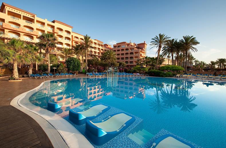 Zwembad van Hotel Elba Sara in Caleta de Fuste, Fuerteventura