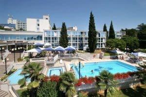 Hotel Zorna in Poreç, Kroatië