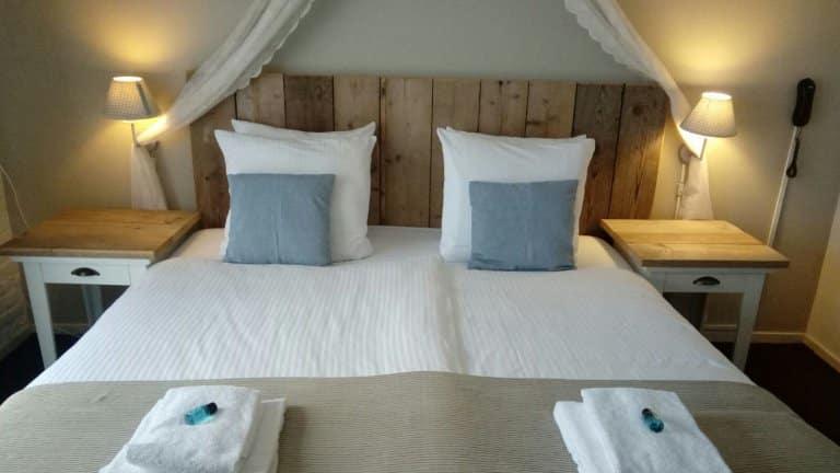 Hotelkamer van Bed and Breakfast Grenzeloos Doldersum in Doldersum, Drenthe