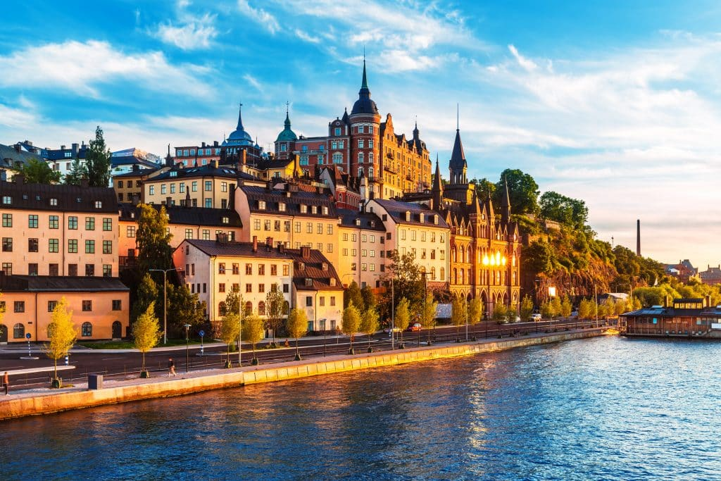 Oude stad van Stockholm, Zweden