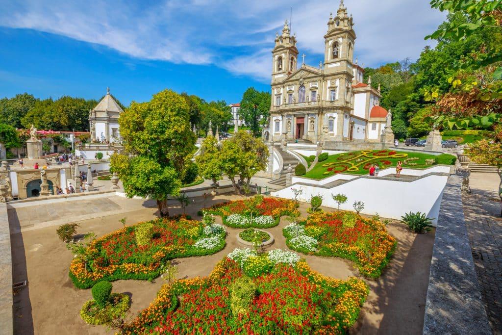 Bom Jesus do Monte in het noorden van Portugal