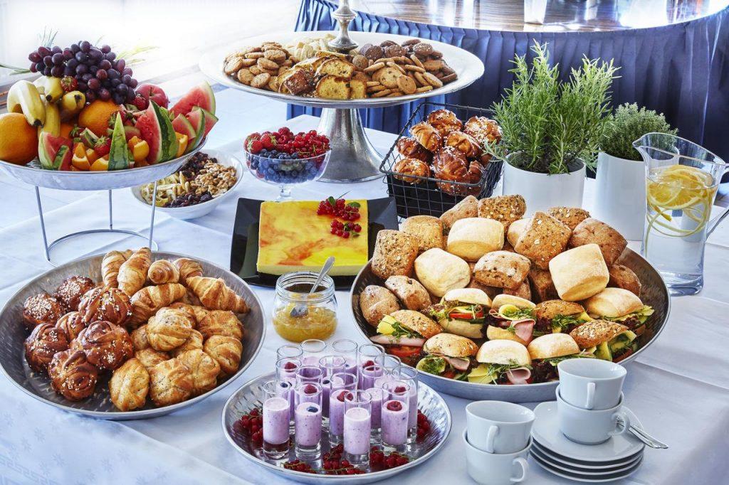 Ontbijt van Hotel Ibis Styles Stockholm Järva in Stockholm, Zweden