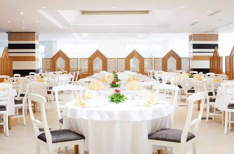 Restaurant van Hotel El Mouradi Club Kantaoui in Port el Kantaoui, Tunesië