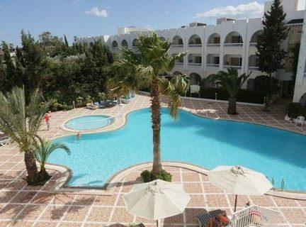 Zwembad van Hotel Le Hammamet in Hammamet, Tunesië