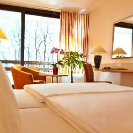 Hotelkamer van Dorint Hotel & Sportresort Arnsberg in Arnsberg, Duitsland