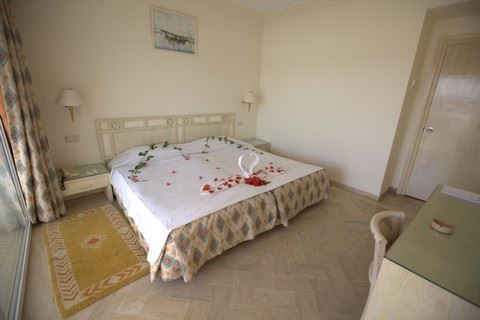 Hotelkamer van Hotel Le Hammamet in Hammamet, Tunesië