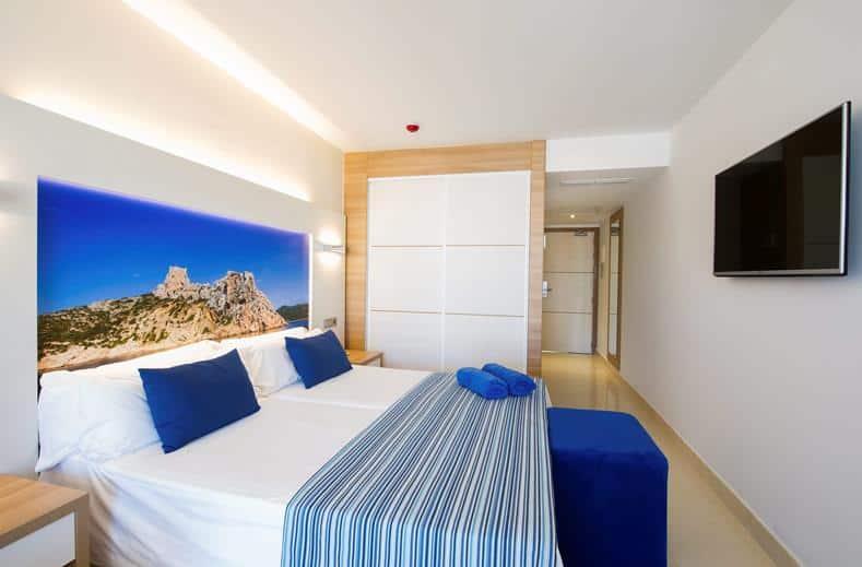 Hotelkamer van Splashworld Playa Estepona in Spanje