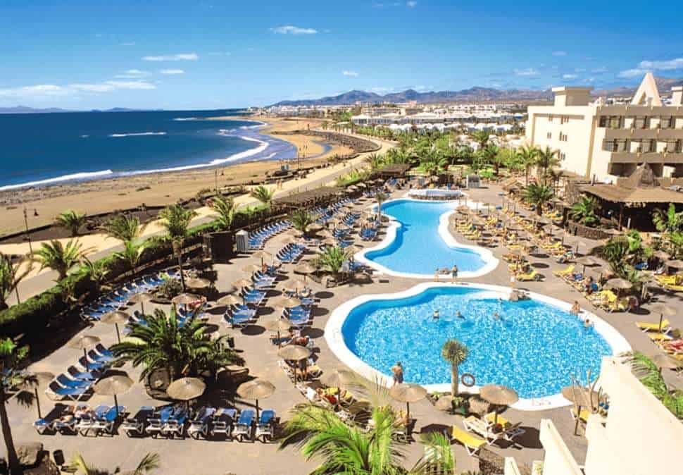 Ligging van Hotel Beatriz Playa & Spa in Puerto del Carmen, Lanzarote