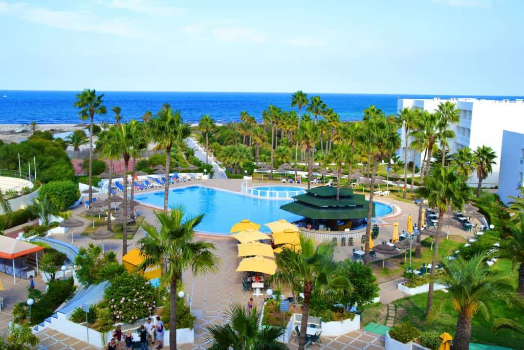 Tropicana hotel in Skanes, Tunesië