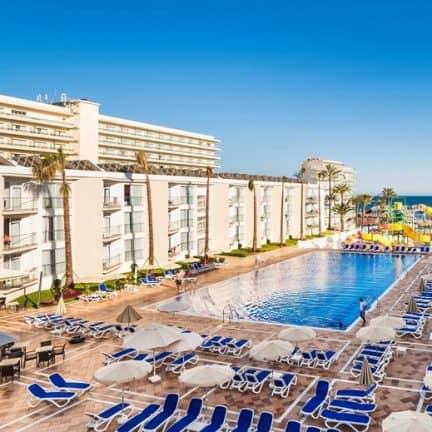 Zwembad van Splashworld Playa Estepona in Spanje
