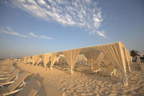 Strand van Hotel Le Hammamet in Hammamet, Tunesië