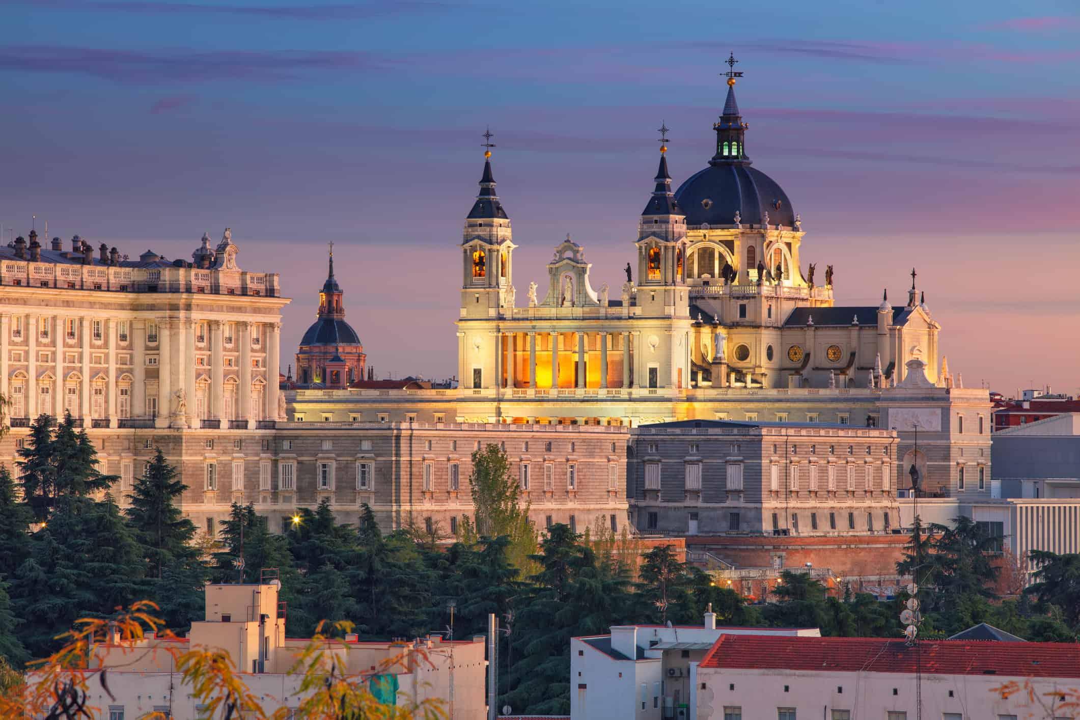 Madrid in Spanje