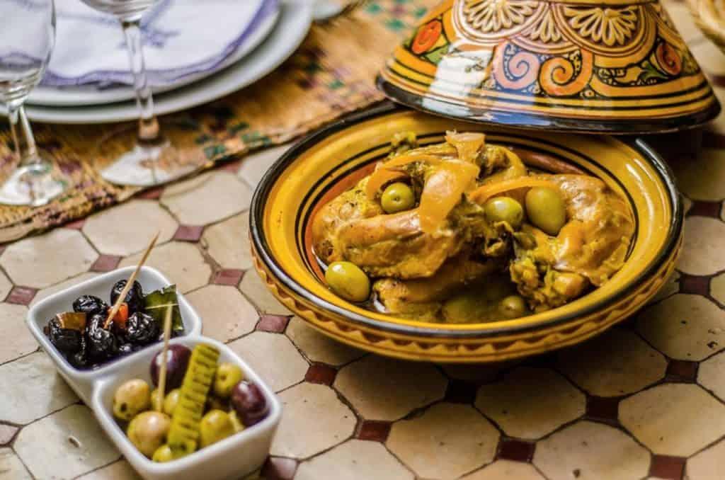 Marokkaanse maaltijd