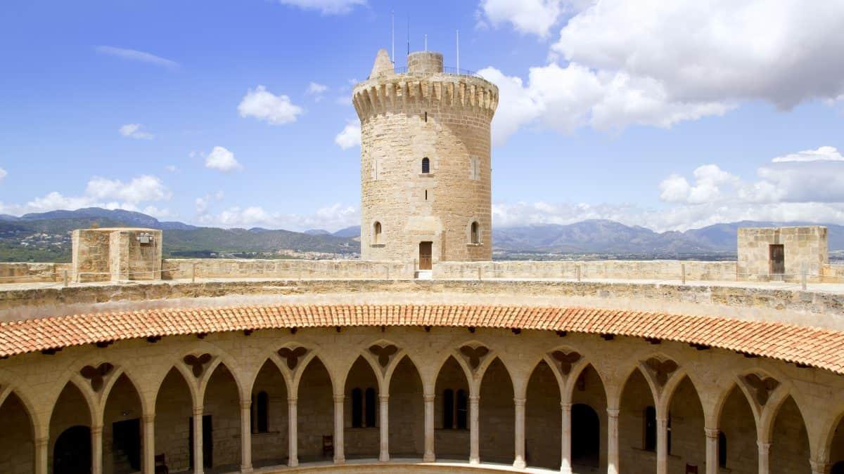 Castell de Bellver in Palma de Mallorca, Mallorca
