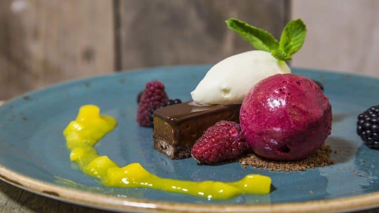 Dessert van Golden Tulip Strandhotel Westduin in Koudekerke,