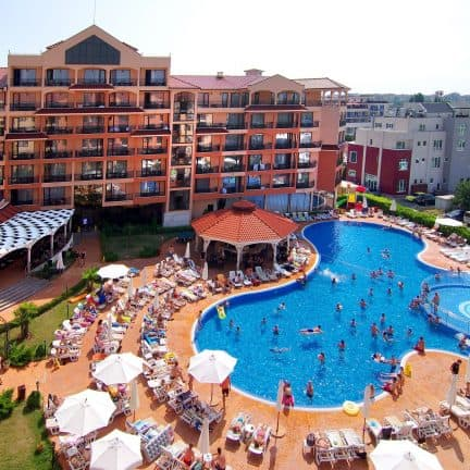 Diamant Residence en Spa in Sunny Beach, Bulgarije