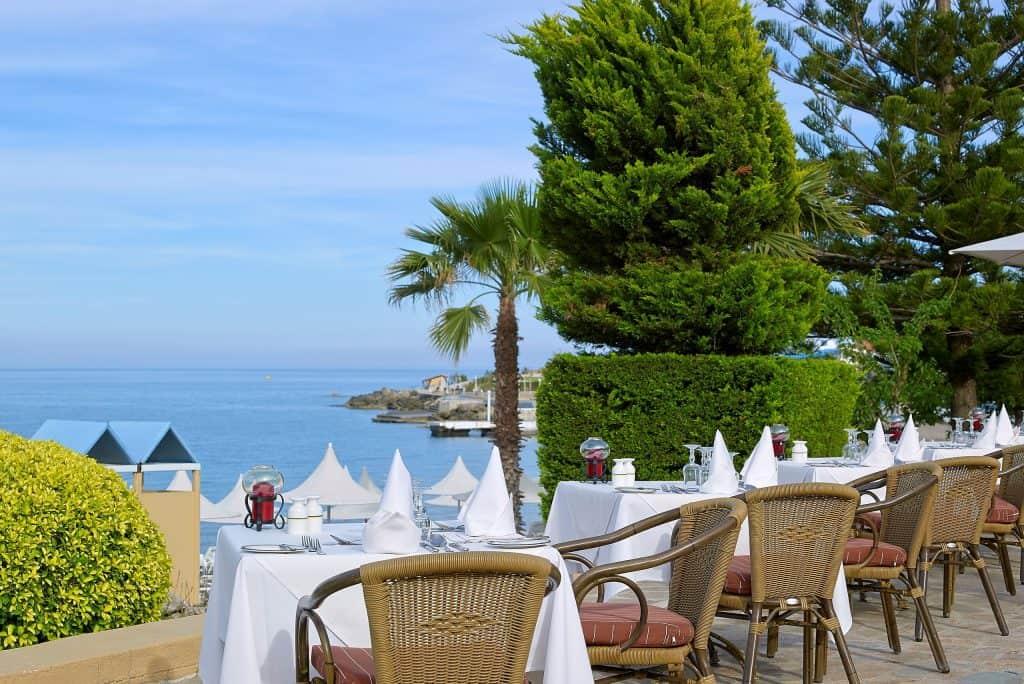 Diner van Aldemar Amilia Mare in Kalithea, Rhodos