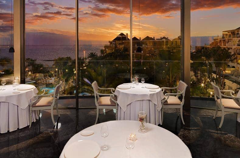 Diner van Jardines de Nivaria in Costa Adeje, Tenerife