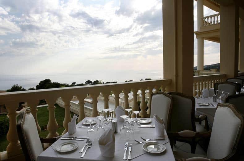 Diner van Mabely Grand hotel in kampi, Zakynthos