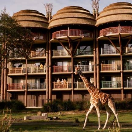Disney's Animal Kingdom Lodge in Orlando, Florida