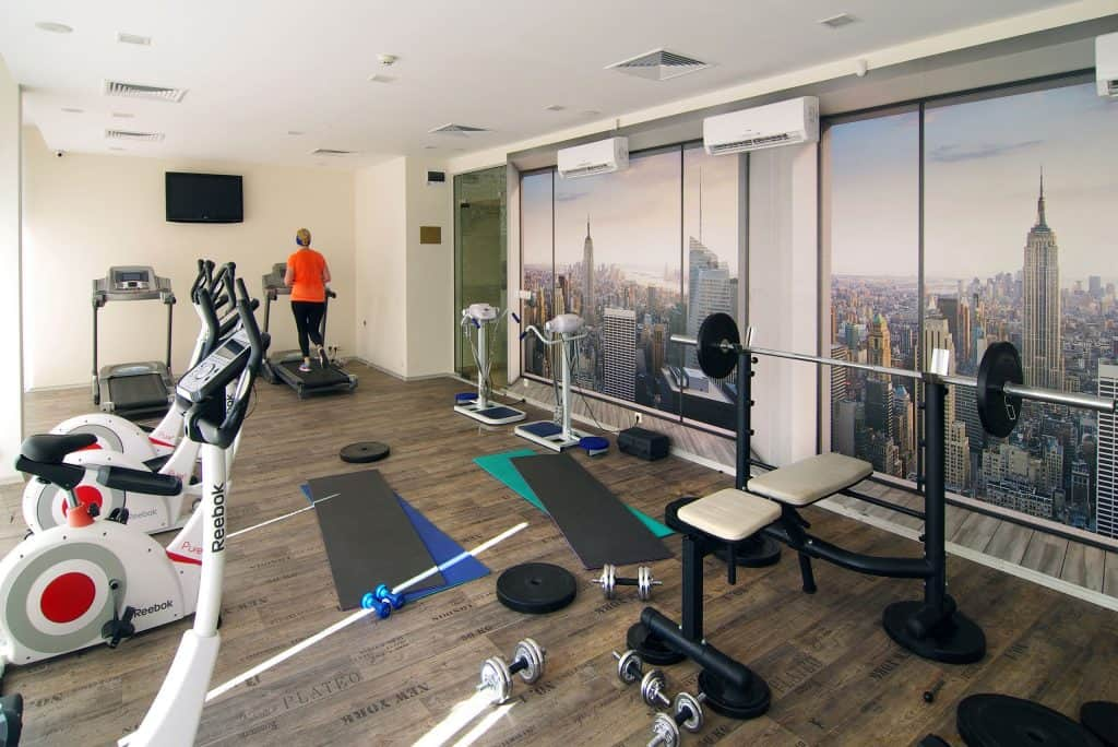 Fitness van Diamant Residence en Spa in Sunny Beach, Bulgarije