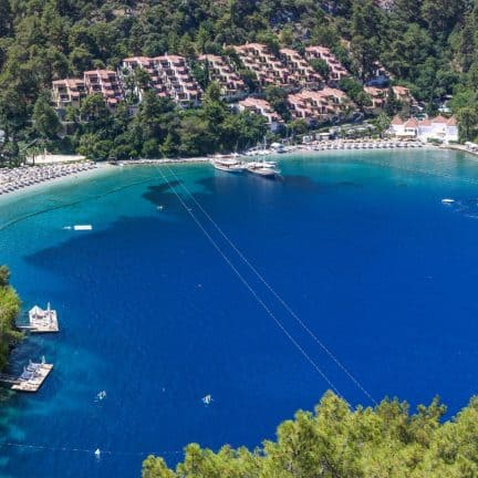 Hillside Beach Club in Fethiye, Turkije