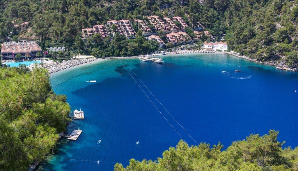 Hillside Beach Club in Fethiye, Turkije