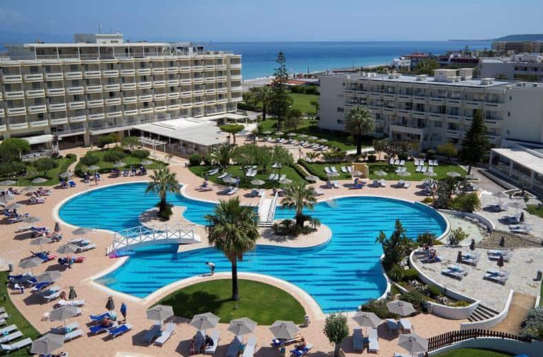 Zwembad van Hotel Electra Palace in Trianta, Rhodos