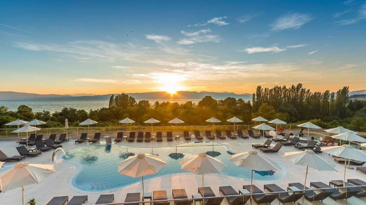 Hotel Laki en spa in Ohrid, Macedonië