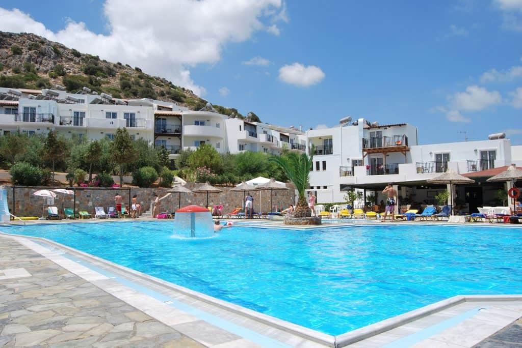 Hotel Semiramis Village in Chersonissos, Kreta