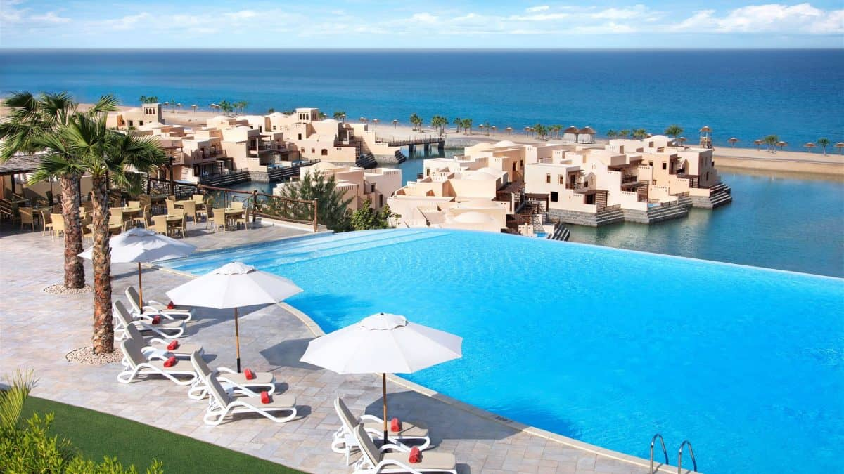 Hotel The Cove Rotana in Ras Al-Khaimah, Verenigde Arabische Emiraten