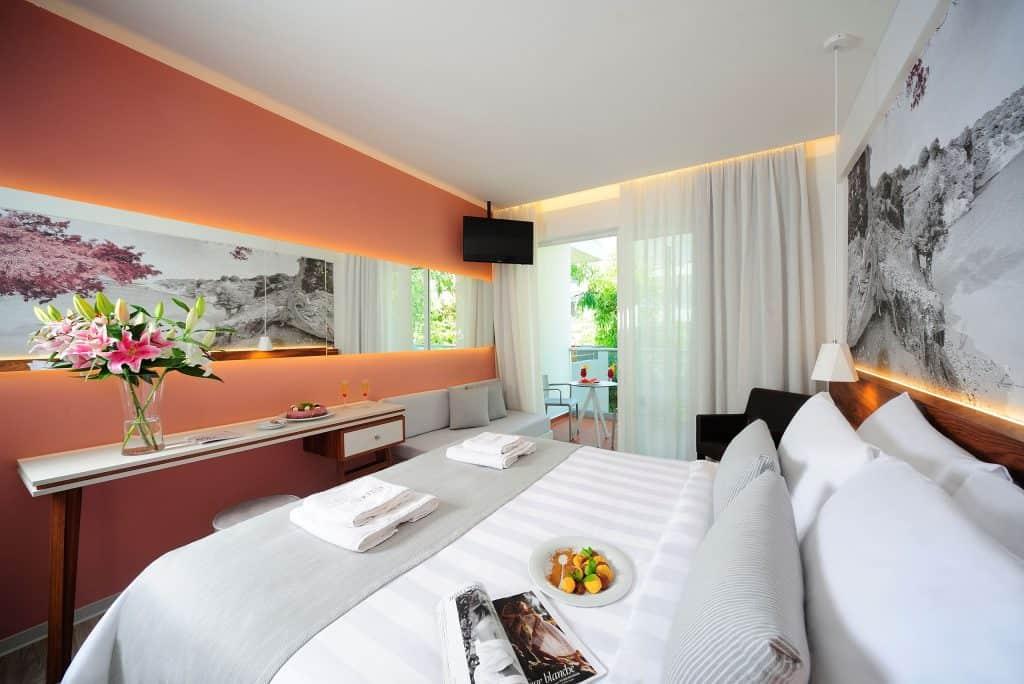 Hotelkamer van Atrium Ambiance Hotel in Rethymnon, Kreta