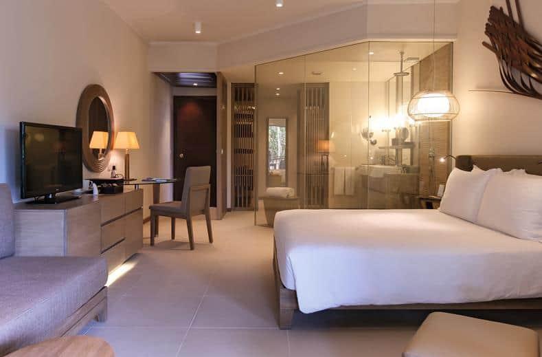 Hotelkamer van Constance Ephelia in Port Launay, Seychellen