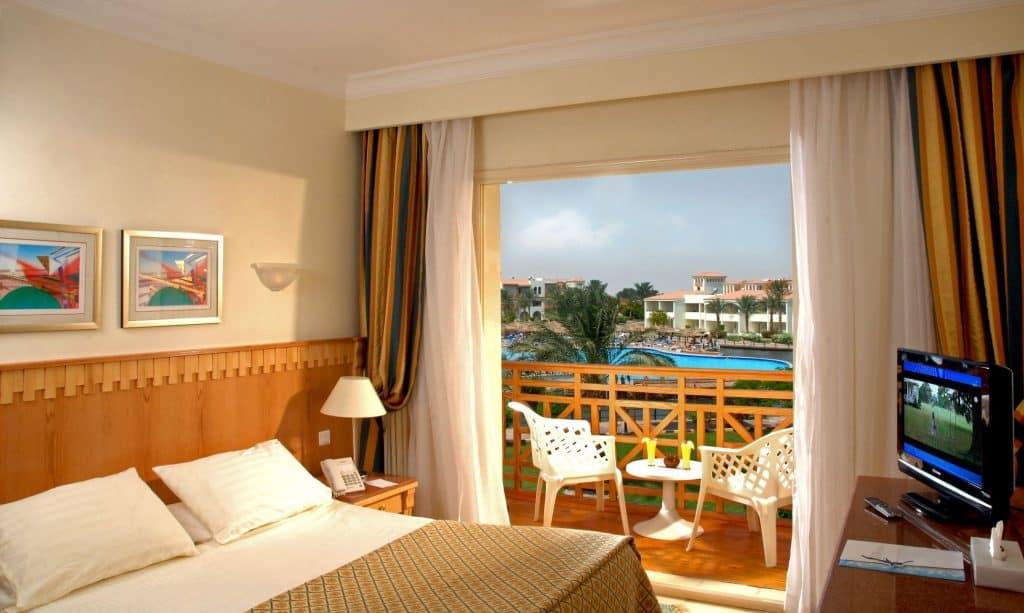 Hotelkamer van Dana Beach Resort in Hurghada, Egypte