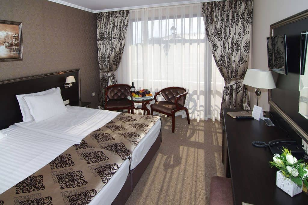 Hotelkamer van Diamant Residence en Spa in Sunny Beach, Bulgarije