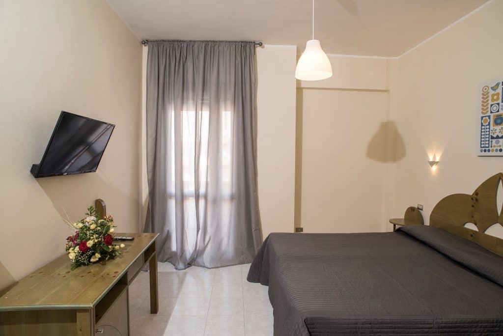 Hotelkamer van Eloro Hotel in Lido di Noto, Sicilië