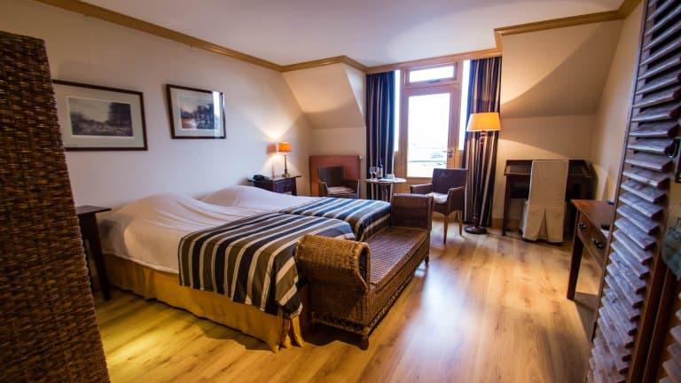Hotelkamer van Hajé Hotel Joure in Joure, Friesland