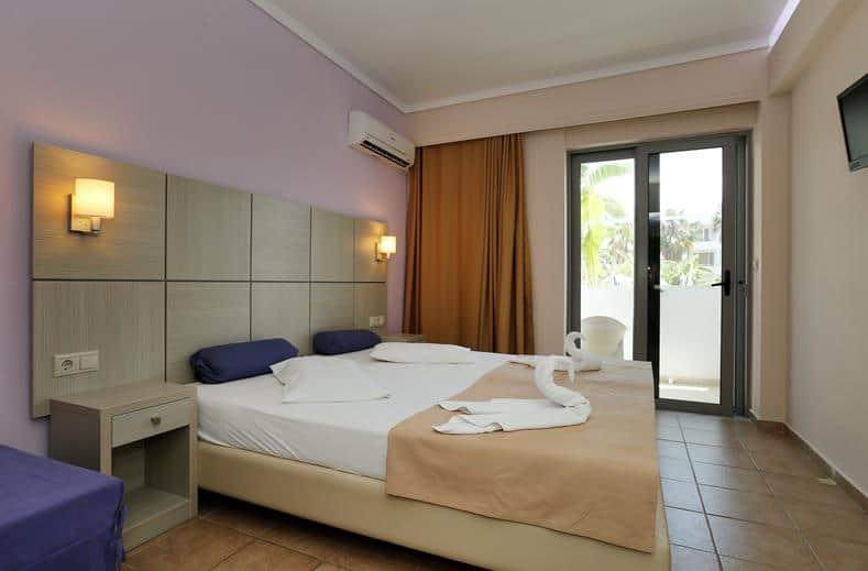 Hotelkamer van Hotel Imperial in Kos-Stad, Griekenland