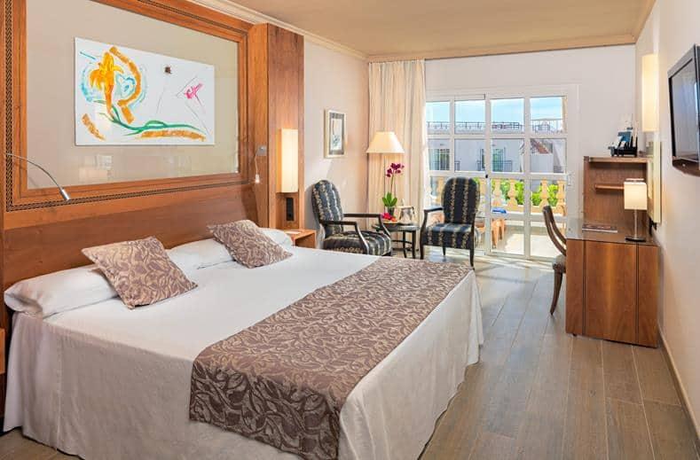 Hotelkamer van Jardines de Nivaria in Costa Adeje, Tenerife