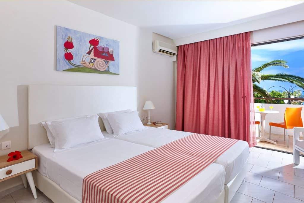Hotelkamer van Vasia Hotels Zephyros Beach Boutique in Stalis, Kreta