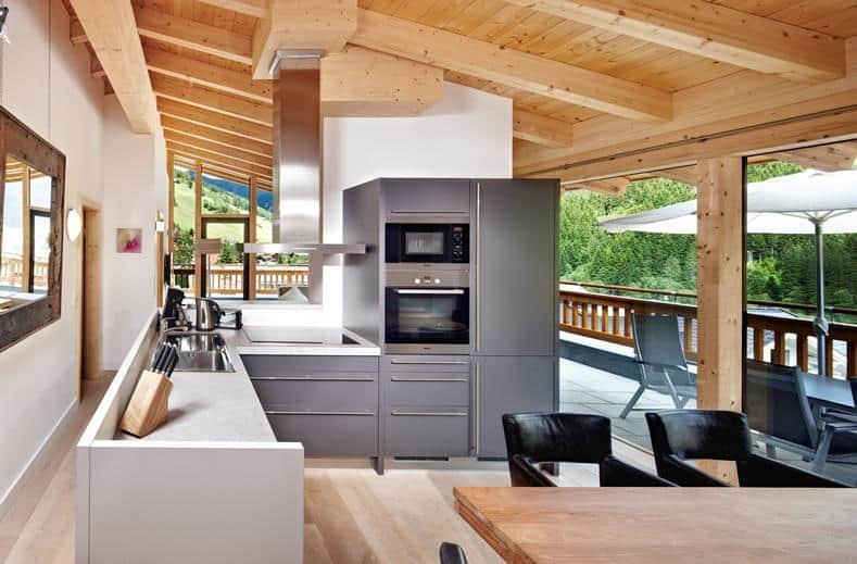 Keuken van Gerlos Alpine Estate in Gerlos, Oostenrijk