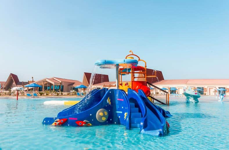 Kinderbad van Albatros Sea World Marsa Alam in Marsa Alam, Egypte