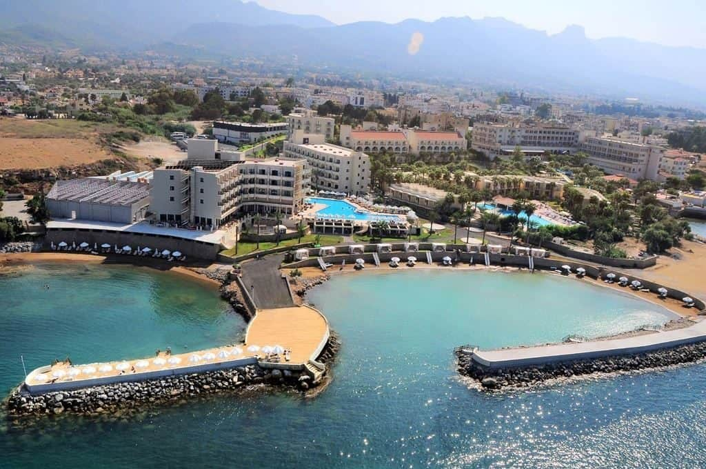 Ligging van Oscar Resort in Kyrenia, Cyprus