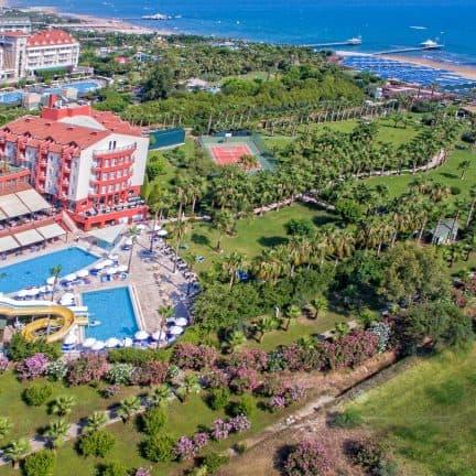 Ligging van Royal Atlantis Beach in Side, Turkije