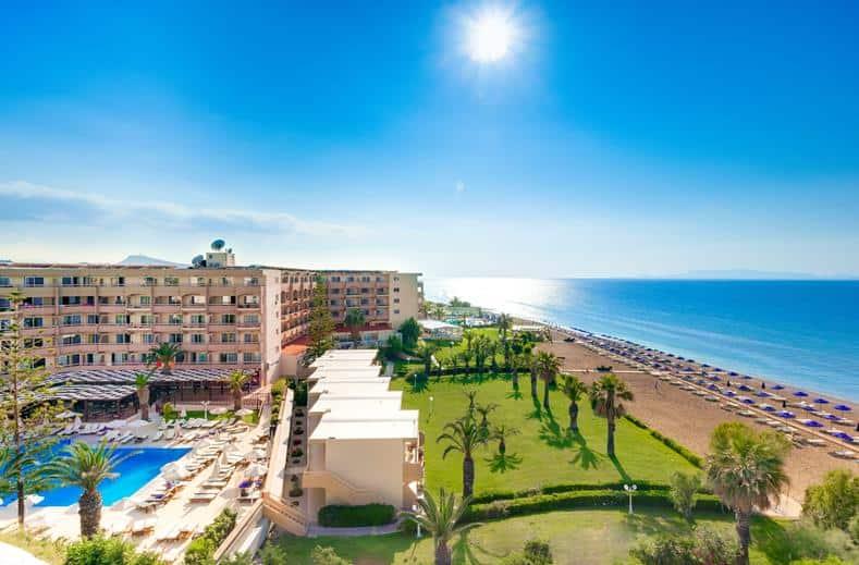 Sun Beach Resort in Trianta, Rhodos