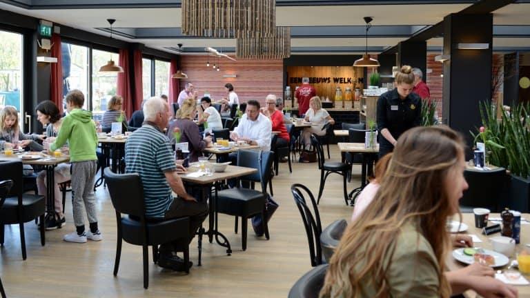 Ontbijt van Golden Tulip Strandhotel Westduin in Koudekerke, Zeeland