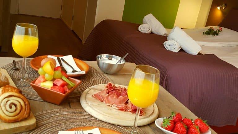 Ontbijt van Hotel Dolores in Hollum op Ameland