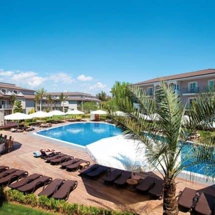 Hotelkamers van Sunis Elita Beach in Side, Turkije