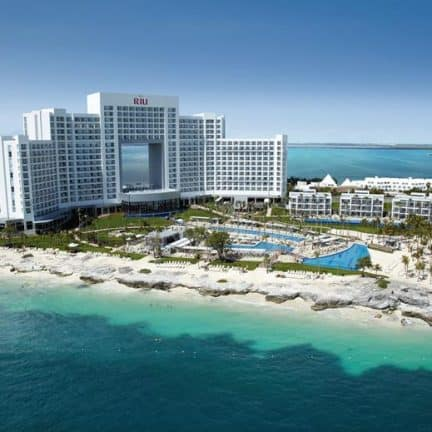 RIU Palace Peninsula in Cancun, Mexico